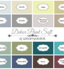 Pentart Dekorfesték lágy (Dekor Paint Soft) 1000 ml – többféle színben