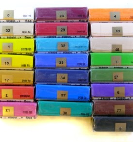 Fimo Soft kiégethető gyurma, karamell 8020-7