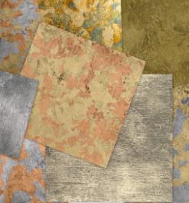 Pentart Füstfólia, arany 1. 14×14 cm