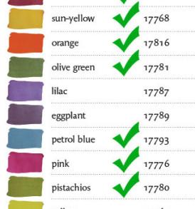 Pentart Selyemfesték 50 ml – különböző színekben