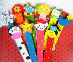 Mini spatula, 5,5 cm, vegyes színek, 300 db/csomag