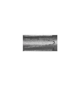 Akrilfilctoll, ezüst 2-4 mm-es, lekerekített heggyel, szelepes