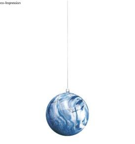 Műanyag gömb, kettéosztható,6 cm