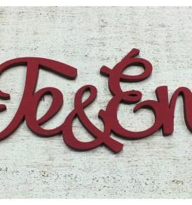 """Fa """"Te&Én"""" felirat 12 cm – kétféle színben"""