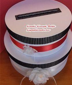 Papír doboz kerek – natúr színű 3 db/szett, kalapdoboz 20 cm, 25 cm, 30 cm