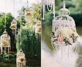 Esküvői kalitka kicsi