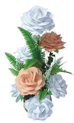 Nyomóforma 2-féle levél+virág