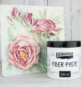 Pentart Fiber paste – Szálpaszta 500 ml