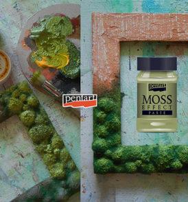 Pentart Moha hatás paszta 100 ml – kétféle színben