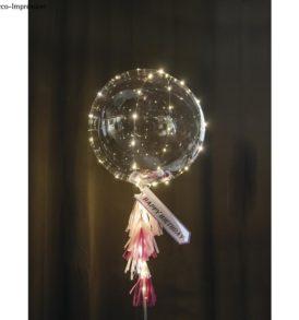 Bubble átlátszó luftballon, megtölthető