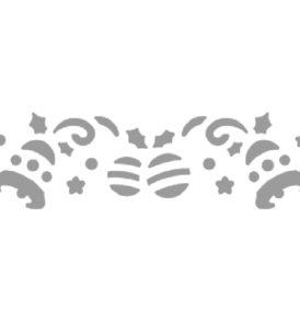 Bordűrlyukasztó, Jinglebells, 200 g/m-ig